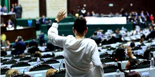 Im mexikanischen Parlament haben Frauen fast die Parität erreicht.