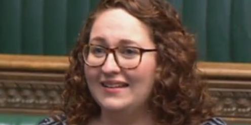Danielle Rowley im britischen Parlament: «Ich habe heute meine Periode.»