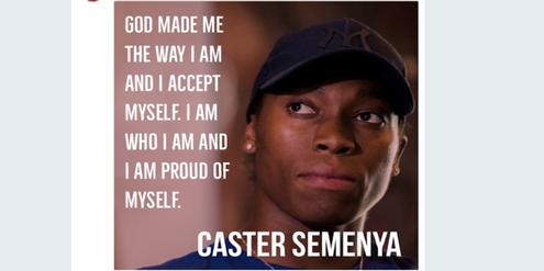 Kommentar von Caster Semenya zur Testosteron-Obergrenze.