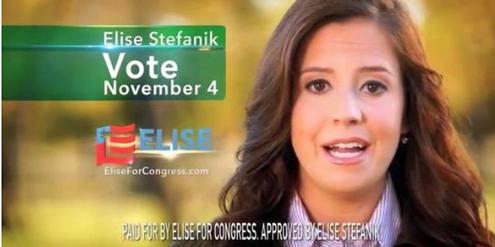 Elise Stefanik ist mit 30 Jahren die jüngste Frau im Repräsentantenhaus.