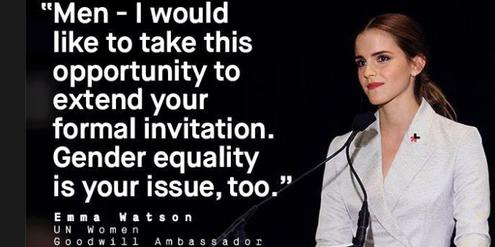 Schauspielerin Emma Watson hat die Uno-Kampagne «HeForShe» kürzlich lanciert.