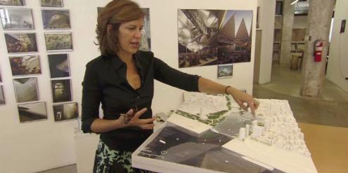 Preisträgerin Jeanne Gang hat den Aqua Tower in Chicago mitentworfen.