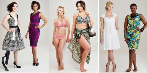 Sommerkatalog von Debenhams: Models mit Rundungen und Prothese
