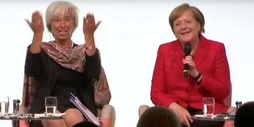 Christine Lagarde und Angela Merkel gehören weltweit zu den mächtigsten Frauen.