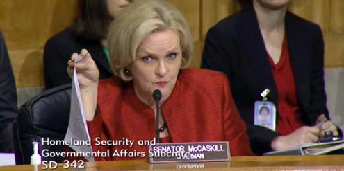 Die demokratische Senatorin Claire McCaskill hat das Gesetz vorgeschlagen.