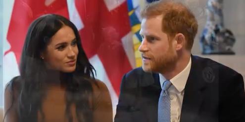 Prinz Harry wird als Opfer seiner Frau Meghan dargestellt.