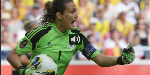 Weltfussballerin Nadine Angerer gehörte zu den Klägerinnen gegen die Fifa.