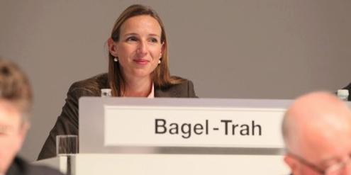 Simone Bagel-Trah, Aufsichtsratsvorsitzende des Henkel-Konzerns, der die Frauenquote erfüllt hat.