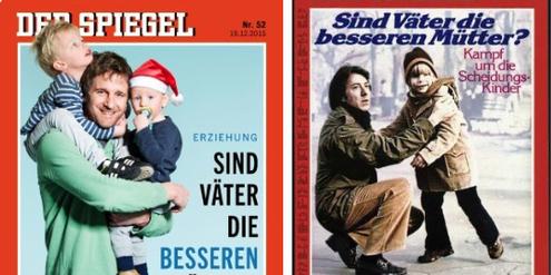 Gleiche Titel-Story: «Der Spiegel» 2015 (links) und 1980 (rechts).