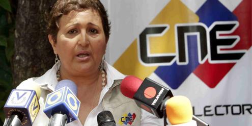 Wahlrats-Präsidentin Tibisay Lucena will mit der Listenquote den Frauenanteil im Parlament erhöhen.