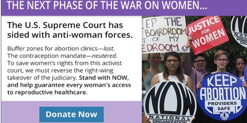 Der US-Dachverband «National Organization for Women» spricht von einem «Krieg gegen Frauen».