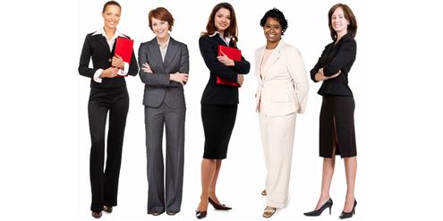 Klischeehafte Bilder von erwerbstätigen Frauen wollen Medien durch reale Bilder ersetzen.