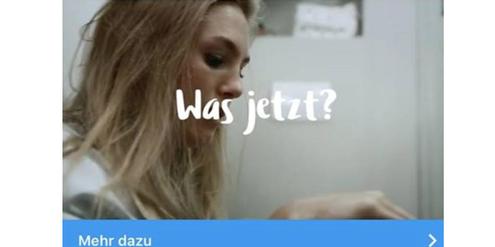 Werbe-Post der Abtreibungsgegner auf Instagram: «Was jetzt?»