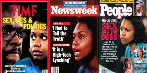 Die Anhörung von Anita Hill sorgte 1991 landesweit für Schlagzeilen.