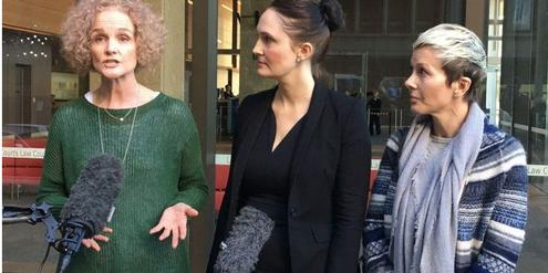 Gai Thompson (links) und andere Betroffene haben Klage gegen den Hersteller eingereicht.