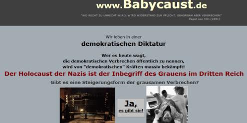 Auf www.babycaust.de veröffentlichte Annen die Namen von Ärzten.