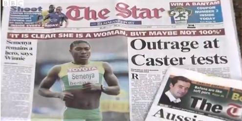 Nach dem WM-Sieg von Semenya sorgte der entwürdigende Geschlechtstest für Schlagzeilen.