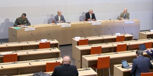 Experten sind Männer: Corona-Pressekonferenz des Schweizer Bundesamtes für Gesundheit.