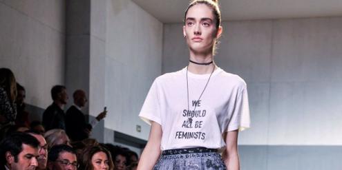 Bekenntnis an Modeschau: «We should all be feminists».