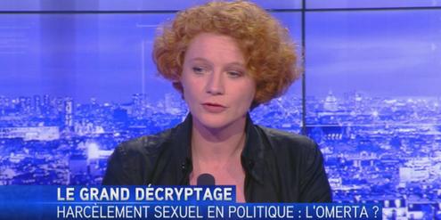 Elen Debost hat als Erste das Schweigen über sexuelle Belästigung in der grünen Partei gebrochen.