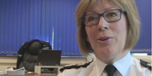 Polizeipräsidentin Sue Fish: «Was Frauen jeden Tag widerfährt, ist absolut inakzeptabel.»