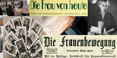 Dokumente der Frauenbewegung werden dank des digitalen Archivs leichter auffindbar.