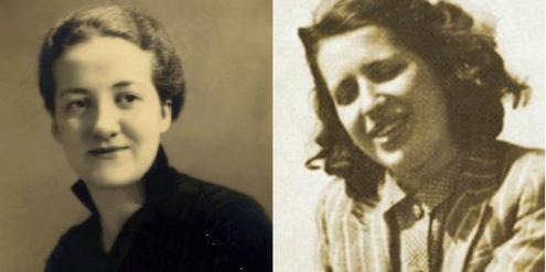 Germaine Tillion (links) und Geneviève de Gaulle-Anthonioz sind neu im Panthéon.