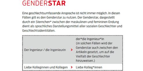 Auszug aus dem neuen Sprachleitfaden der Stadt Hannover.