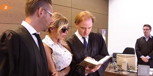 Gina-Lisa Lohfink steht wegen Falschanschuldigung vor Gericht.