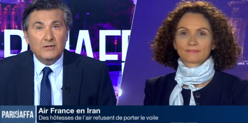 Flugbegleiterin Caroline Rolland im Interview: «Wir wollen uns nicht der Scharia unterwerfen.»