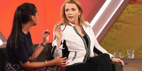 Kritikerinnen werfen Birgit Kelle (rechts) «üble Polemik» vor.