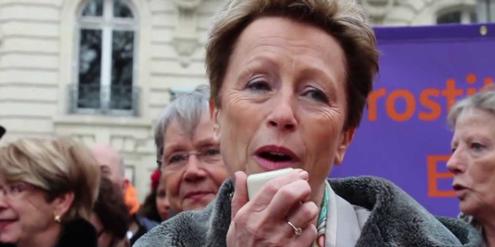 Die Sozialistin Maud Olivier hat die Freier-Bestrafung vorgeschlagen und sich dafür engagiert.