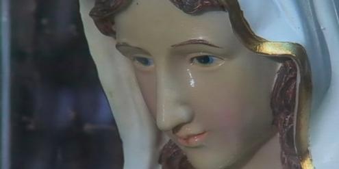 Marienstatue: Die neue Bibelübersetzung rüttelt am Dogma der Jungfräulichkeit von Maria.