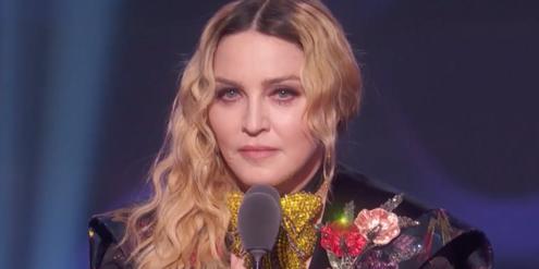 Madonna während ihrer Rede an der Preisverleihung «Billboard Music Awards» vor zwei Jahren.