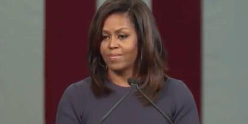 Michelle Obama: «Das ist nicht normal, das gehört nicht in die Politik.»