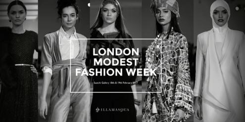 Anfang dieses Jahres fand erstmals in London eine «Modest Fashion Week» statt.