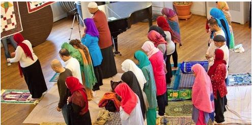 Ziel liberaler Musliminnen: Frauen und Männer beten gemeinsam.