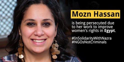 Mozn Hassan ist wegen ihres Engagements für Frauenrechte im Visier der Behörden.
