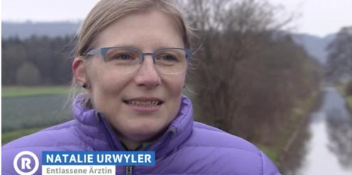 Natalie Urwyler hat erfolgreich gegen ihre Entlassung geklagt.