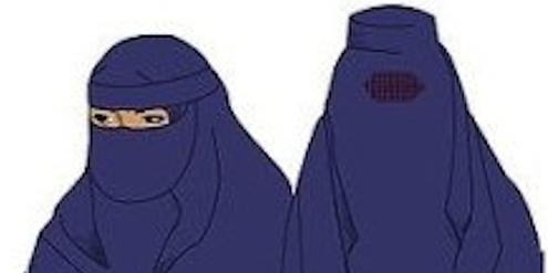 St. Gallen verbietet Nikab (links) und Burka (rechts) im öffentlichen Raum.