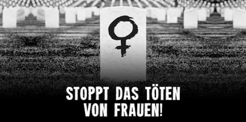 In Deutschland fordert eine Petition von der Politik Massnahmen gegen Frauenmorde.