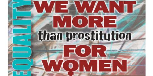 Die «Women's Coalition for the Abolition of Prostitution» begrüsst die Bestrafung der Freier.
