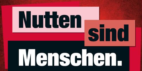 Motiv der Kampagne « «Stoppt Zwangs- und Armutsprostitution!»