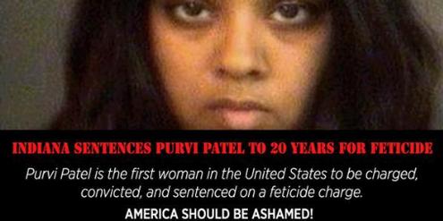 Auf Twitter wurde das Urteil gegen Purvi Patel scharf kritisiert.
