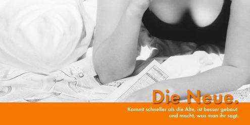 Werbekampagne für die «Neue Nordhäuser Zeitung»: Eine Frage des Humors oder einfach nur sexistisch?