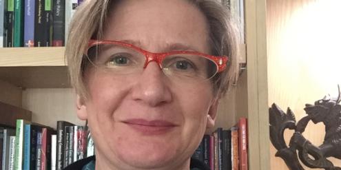 Studienleiterin Sarah Hawkes