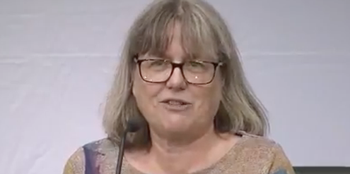 Nobelpreisträgerin Donna Strickland.