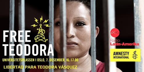 Amnesty International hat sich jahrelang für die Freilassung von Teodora Vásquez engagiert.