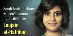 Die 28-jährige Loujain al-Hathloul ist eine der inhaftierten Frauenrechtsaktivistinnen.