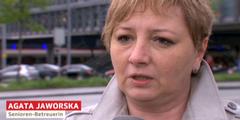Agata Jaworska erhält eine Lohn-Nachzahlung für die Rufbereitschaft in der Nacht.